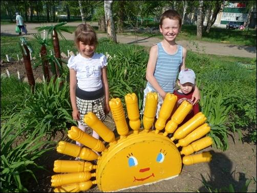 Как обустроить детскую площадку во дворе своими руками фото